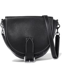 JW Anderson - Bike Small Smooth And Textured-leather Shoulder Bag - Lyst