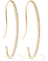 Hirotaka - Gossamer 10-karat Gold Diamond Earrings Gold One Size - Lyst