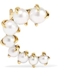 Ana Khouri - Marie 18-karat Gold Pearl Ear Cuff - Lyst
