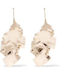 Valentino - Garavani Gold-tone Earrings - Lyst