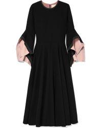 ROKSANDA - Ruffled Cady Midi Dress - Lyst