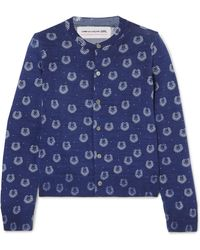 Comme des Garçons - Printed Wool Cardigan - Lyst