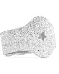 Carolina Bucci - Shield 18-karat White Gold Ring - Lyst