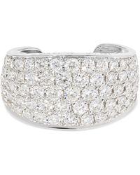 Anita Ko - Galaxy 18-karat White Gold Diamond Ear Cuff White Gold One Size - Lyst