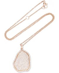 Kimberly Mcdonald | 18-karat Rose Gold Diamond Necklace | Lyst