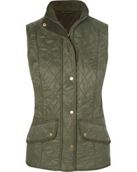 Barbour - Cavalry Quilted Shell Gilet - Lyst
