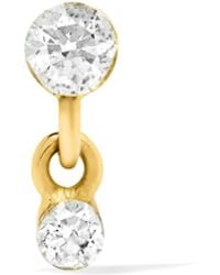 Maria Tash | 18-karat Gold Diamond Earring | Lyst