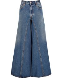 Wide Leg Jeans | Shop Designer Wide Leg Denim for Women | Lyst