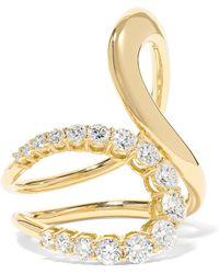 Melissa Kaye - Aria Jane 18-karat Gold Diamond Ring - Lyst