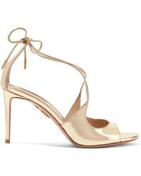 Sandales en cuir ornements cristaux NataliaSophia Webster