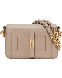 Tom Ford | Natalia Small Textured-leather Shoulder Bag | Lyst