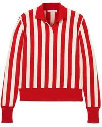 J.W.Anderson - Striped Wool-blend Sweater - Lyst