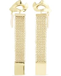 Ellery - Succession Broken Eye Gold-tone Pearl Earrings - Lyst