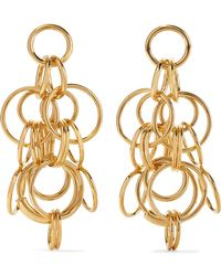 Chloé - Reese Gold-tone Earrings - Lyst