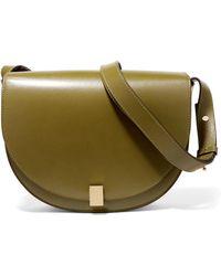 Victoria Beckham - Half Moon Box Leather Shoulder Bag - Lyst