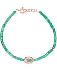 Pascale Monvoisin - Montauk 9-karat Rose Gold, Turquoise And Bakelite Bracelet - Lyst