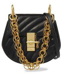 Chloé - Drew Bijou Mini Quilted Leather Shoulder Bag - Lyst