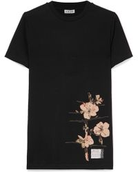 Loewe - + Charles Rennie Mackintosh Printed Cotton-jersey T-shirt - Lyst