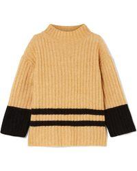 By Malene Birger - Paprikana Striped Knitted Jumper - Lyst