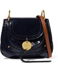 See By Chloé - Susie Mini Patent-leather Shoulder Bag - Lyst