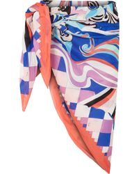 Emilio Pucci - Printed Cotton-voile Pareo - Lyst