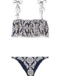 Tory Burch - Tapestry Geo Bikini - Lyst