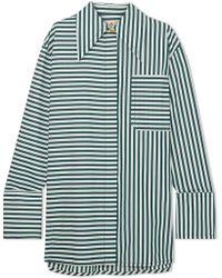 Marni - Oversized Striped Cotton-poplin Shirt - Lyst