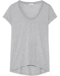 Splendid - Cotton And Modal-blend Jersey T-shirt - Lyst
