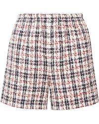 Gucci - Metallic Tweed Shorts - Lyst
