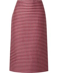 Marni - Checked Pencil Skirt - Lyst