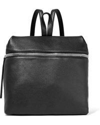Kara - Large Textured-leather Backpack - Lyst