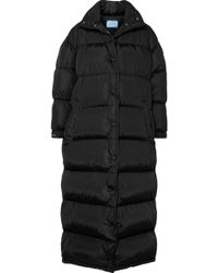 Prada - Quilted Shell Coat - Lyst