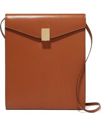 Victoria Beckham - Postino Leather Shoulder Bag - Lyst