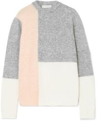3.1 Phillip Lim - Lofty Strickpullover In Colour-block-optik - Lyst d9caa12693