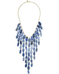 Pippa Small - 18-karat Gold Kyanite Necklace - Lyst