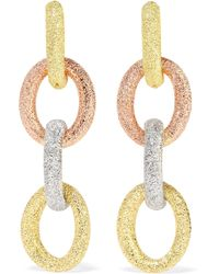 Carolina Bucci - Huggy 18-karat Gold Earrings Gold One Size - Lyst