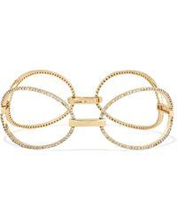 Ileana Makri - Bracelet En Or 18 Carats Et Diamants Empty Mirror - Lyst