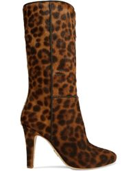 Brother Vellies - Leopard-print Calf Hair Boots - Lyst