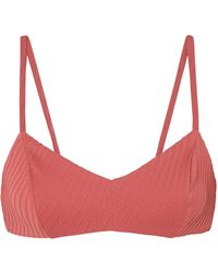 F E L L A. - Julius Textured Bikini Top - Lyst