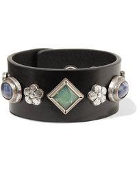 Isabel Marant - Studs Embellished Bracelet - Lyst