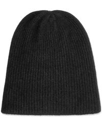 The Elder Statesman - Watchman Ribbed Cashmere Beanie - Lyst