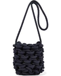 Alienina - Woven Cotton Shoulder Bag - Lyst