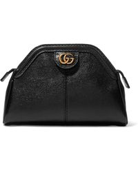 Gucci - Re(belle) Textured-leather Clutch - Lyst
