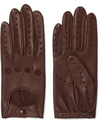 Agnelle - Faye Leather Gloves - Lyst