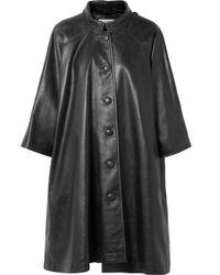Balenciaga - Veste Oversize En Cuir Texturé Imprimé - Lyst