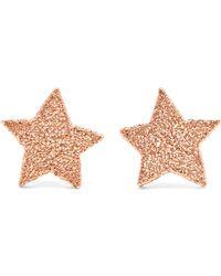 Carolina Bucci - Superstellar 18-karat Rose Gold Earrings - Lyst