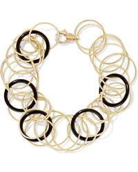 Buccellati | Hawaii 18-karat Gold Onyx Bracelet | Lyst