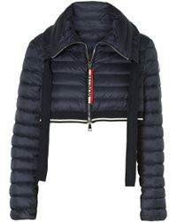 Moncler - Cropped Quilted Shell Down Jacket - Lyst