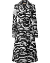 Michael Kors - Wool-jacquard Coat - Lyst