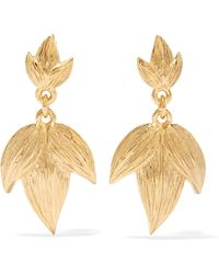 Meadowlark - Gold-plated Earrings Gold One Size - Lyst